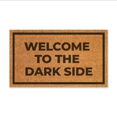 Capacho personalizado - Welcome to the Darkside