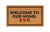 Modelo personalizado - Welcome to our home