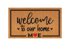 Modelo personalizado - Welcome to our home - M E
