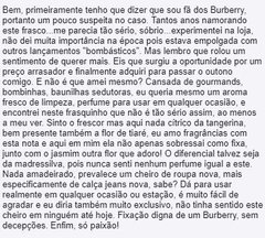 Imagem do Burberry - London - edp - DECANT