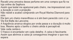 Imagem do Marina de Bourbon - Royal Marina Diamond - edp - DECANT