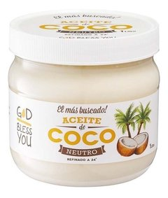 ACEITE DE COCO NEUTRO GOD BLESS YOU 1 LITRO
