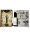 KIT CUIDADO FACIAL EMULSION LUMINOSA CON ROLLER JADE DOBLE