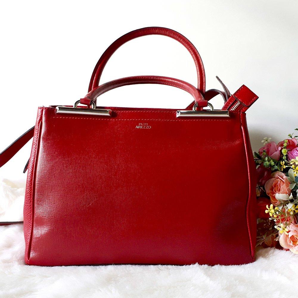 d7ec99be4 Bolsa arezzo vermelha - Comprar em Mimopink