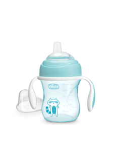 VASO CHICCO TRANSITION CUP 4m+ CELESTE