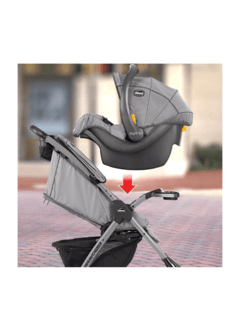 COCHE TR/SYS CHICCO MINI BRAVO PLUS SLATE en internet