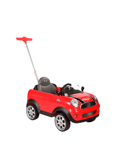 PUSH CAR MINI COOPER ROJO KIDDY