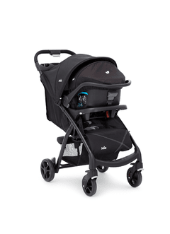 COCHE + CARRIER JOIE MUZE BLACK - TinyBaby Argentina