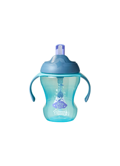 VASOS 230 ML TRAINER STRAW CUP X1 TOMMEE TIPPEE