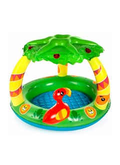 INFLABLE FRIENDLY JUNGLE PLAY POOL BESTWAY