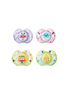 CHUPETES 0-6M SILICONA X2 FUN STYLE TOMMEE TIPPEE