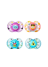 CHUPETES 6-18M SILICONA X2 FUN STYLE TOMMEE TIPPEE
