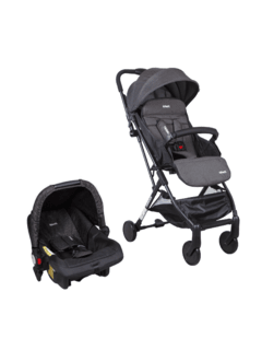 COCHE TRAVEL SYSTEM ULTRALIVIANO TERRAIN BLACK