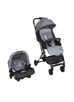 COCHE TRAVEL SYSTEM ULTRALIVIANO TERRAIN GREY
