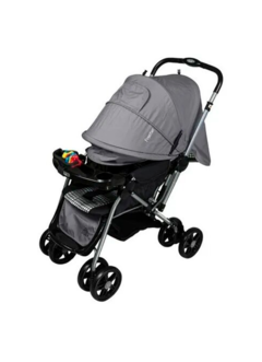 COCHE CUNA DUCK FRONTIER GRIS