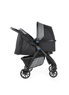 COCHE TR. SYS CHICCO KWIK ONE JET BLACK - TinyBaby Argentina