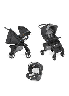 COCHE TR. SYS CHICCO KWIK ONE JET BLACK