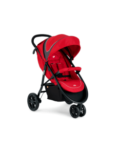 COCHE + CARRIER JOIE LITERAX 3 RED