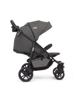 COCHE TRAVEL SYSTEM JOIE LITETRAX 4 COAL - TinyBaby Argentina