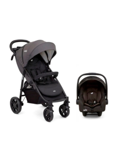 COCHE TRAVEL SYSTEM JOIE LITETRAX 4 COAL