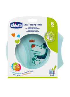 PLATO EASY FEEDING CELESTE CHICCO 6M+