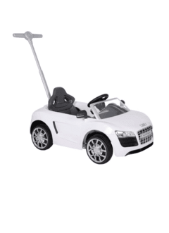 PUSH CAR AUDI BLANCO MARCA KIDDY