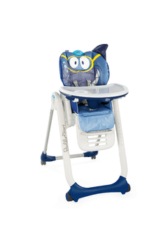 SILLA DE COMER CHICCO POLLY2START SHARK