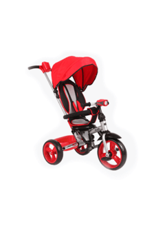 TRICICLO KIDDY FLEX COLOR ROJO