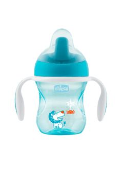 VASO TRAINING CUP CHICCO AZUL/VERDE 6m+