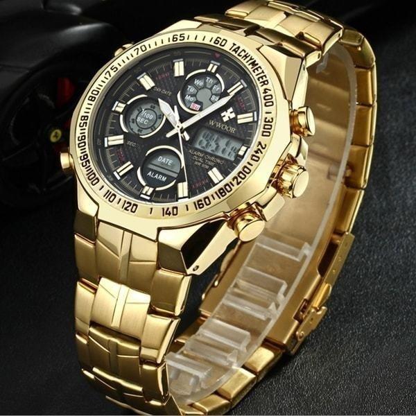 0c3c3c596e8 Relógio Wwoor Business Lux