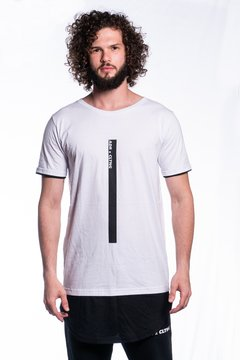 CAMISETA LONG ADR CLTNG BLACK/WHITE