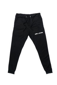 CALÇA MOLETOM ADULTO PRETO - ADR Clothing