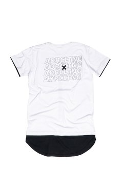 CAMISETA LONG ADR CLTNG BLACK/WHITE - loja online