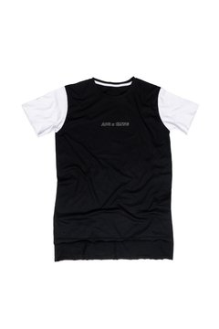 CAMISETA LONG ADR CLTNG FRONTAL MANGA/BRANCA - ADR Clothing