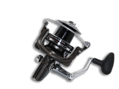 REEL RS9000 RAT 4.9:1 12 RULEMAN, 0.40mm/320mts 9000  carrete conico con funda