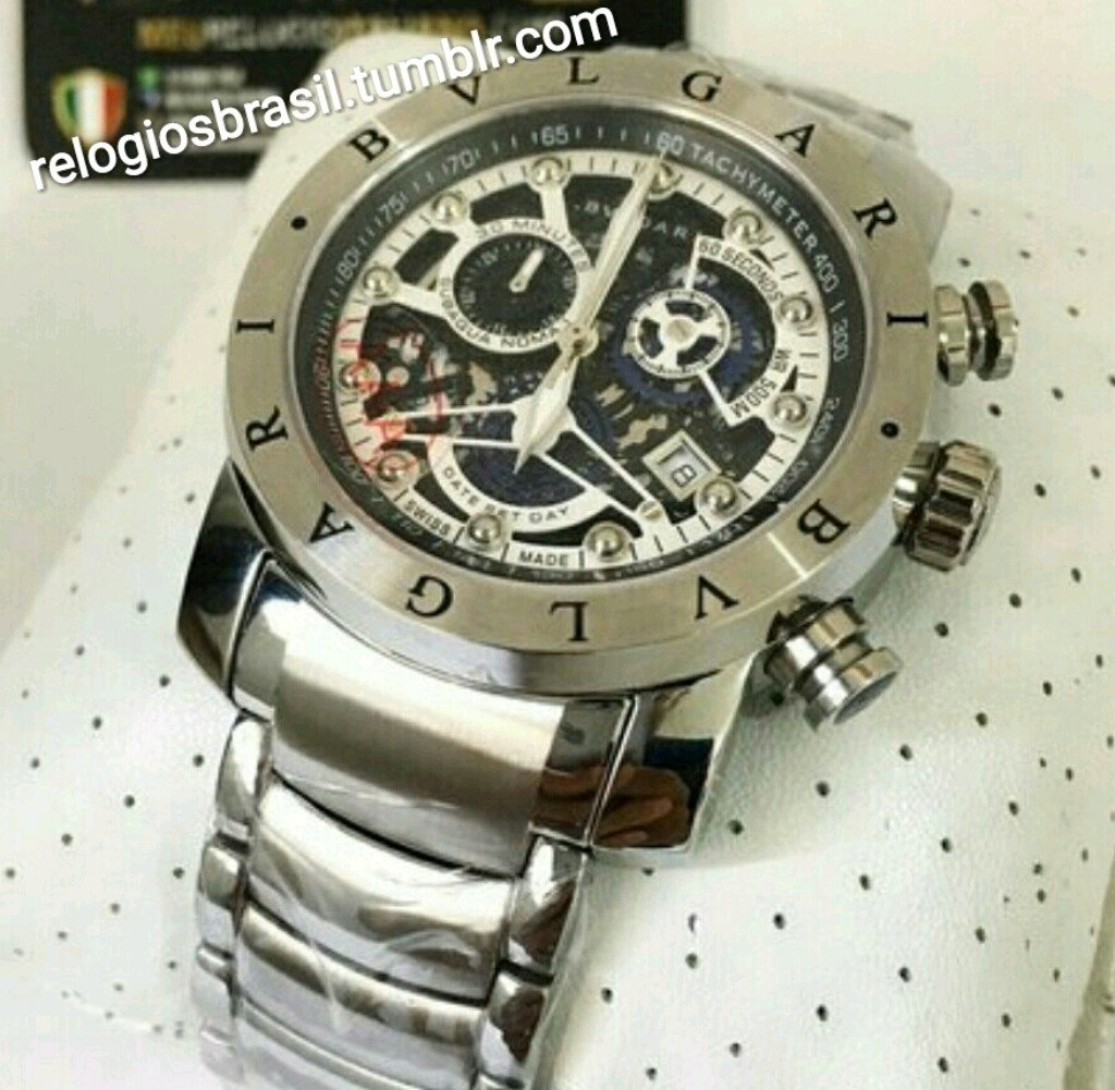 14151a00c7d Bvlgari Prata Skeleton - Meu Relógio Favorito