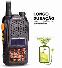 Radio Walk Talk Ht Dual Band Uhf Vhf Fm Baofeng Uv-6r 7w