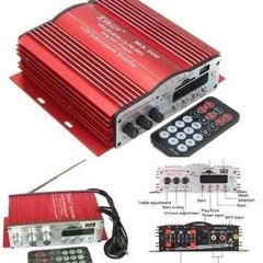 Mini Modulo Amplificador Kinter Ma200 4 Ch Fm/ Mp3 /usb/sd.
