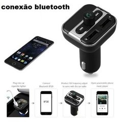 Mp3 Player Fm Carro Kelima Bt20 Usb Bluetooth Carregador.
