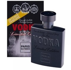 Vodka Limited Edition 100ml Masculino Paris Elysees Original