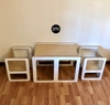 MESA CUBO MONTESSORI + 2 SILLAS - UCHA Lights