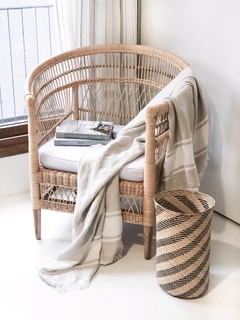 SILLÓN RATTAN OVAL - Sekkei Decor
