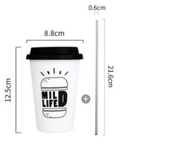 Copo Black and White Coffee - comprar online