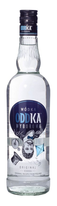 Vodka Oddka 750 cc