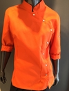 FITTED JACKET NARANJA