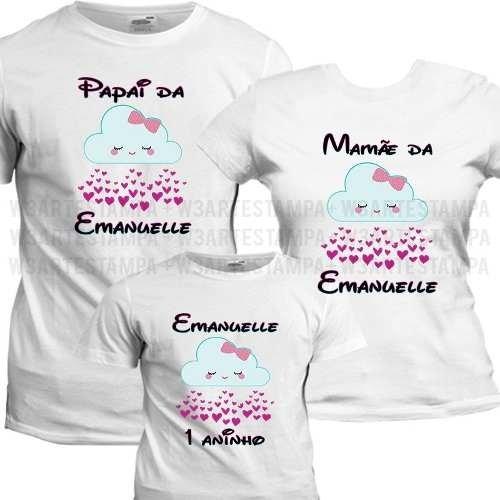 286128451 10 Camisetas Chuva De Benção Aniversario Festa Amor