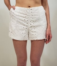 SHORTS LAISE BRANCO COD 30278 na internet