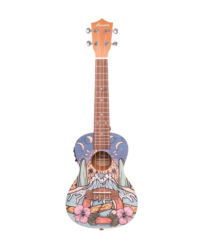 Ukelele Cool  Beach Concierto con EQ (BU-23Q COOL BEACH) - comprar online