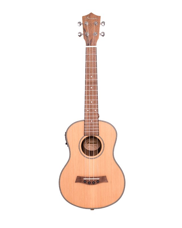Solid Cedar wood Ukulele Tenor w/eq (Includes Gig bag) - buy online
