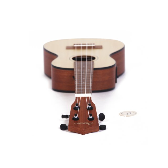 Sapele wood Tenor  Ukulele  w/ eq (Includes bag) - loja online